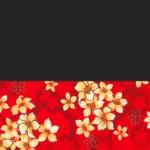 黑身油桐紅花底